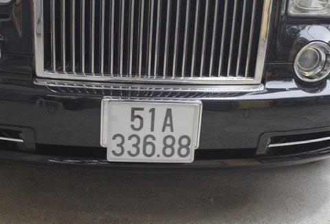 Chiếc xe sở hữu biển số không dễ tìm 51A-33688