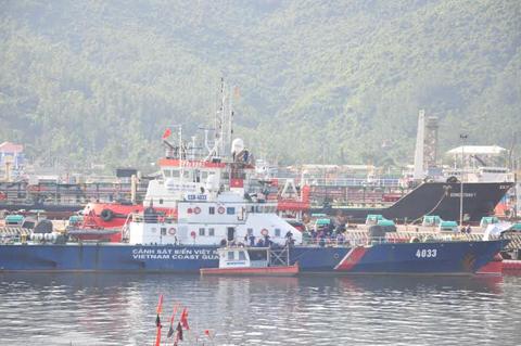 kiểm ngư, đối đầu, Trung Quốc; cảnh sát biển