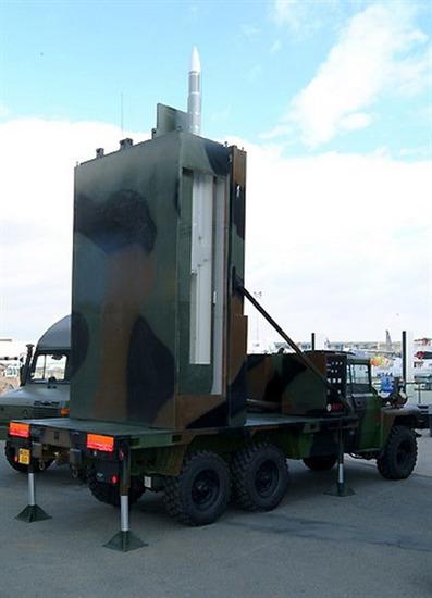 Phiên bản trên bộ của MICA được đặt trên khung gầm xe tải 5 tấn, đảm bảo khả năng bảo vệ 360° chống lại các loại máy bay cánh bằng và trực thăng, UAV và tên lửa phóng từ máy bay.