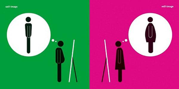 Bộ tranh hài hước về sự khác nhau giữa nam giới và nữ giới 2