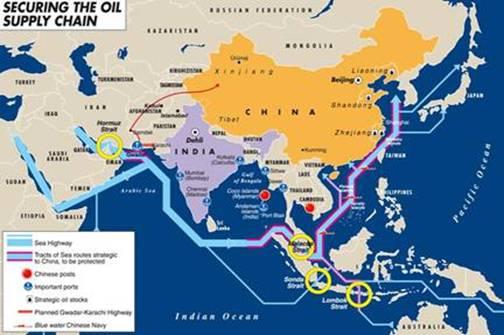 Nhật Bản và Úc đã đi trước Trung Quốc một bước tại 2 eo biển Sunda và Blombok