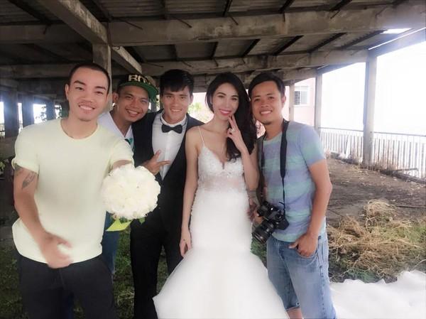 Hé lộ hậu trường chụp ảnh cưới của Công Vinh - Thủy Tiên 2