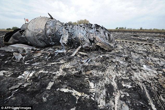 MH17 bị bắn rơi