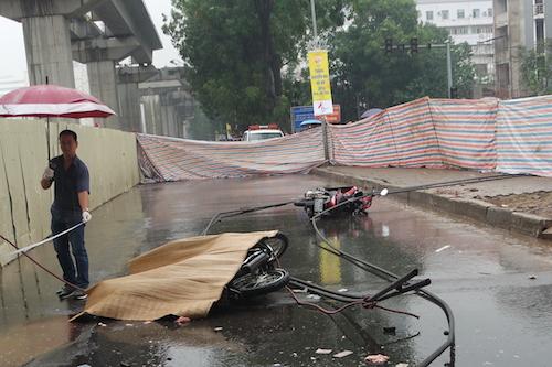 Một nạn nhân khác không may mắn như vợ chồng ông Phong, đã tử vong tại hiện trường