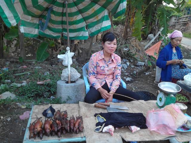Chợ Chuột tại Ngã tưthôn Tiền Liệt, xã Tân Phong, Ninh Giang, Hải Dương.
