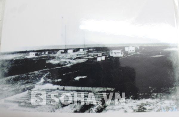 Bức ảnh toàn cảnh hòn đảo ở Hoàng Sa mà gia đình ông Bảo từng sinh sống do chính bố ông chụp lại. (Ảnh do ông Bảo cung cấp).