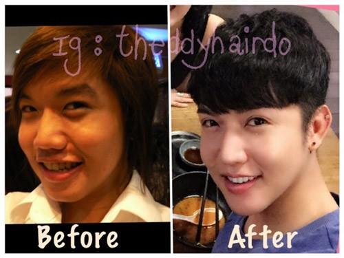 Giờ đây anh đã trở thành một hot boy Thái Lan...