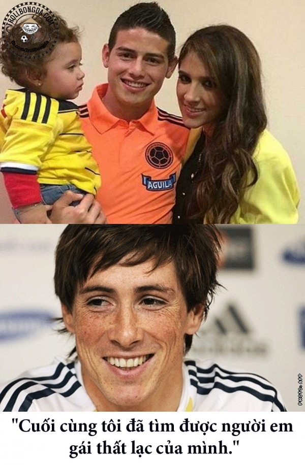 Torres có em gái chung với Ospina