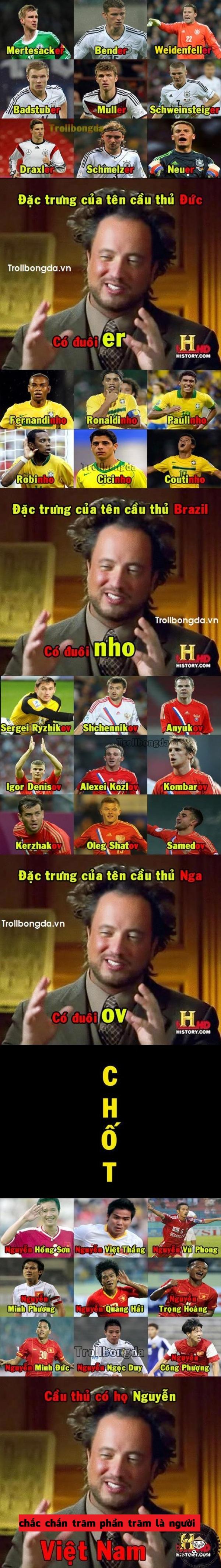 Cứ họ Nguyễn là Việt Nam nhỉ?