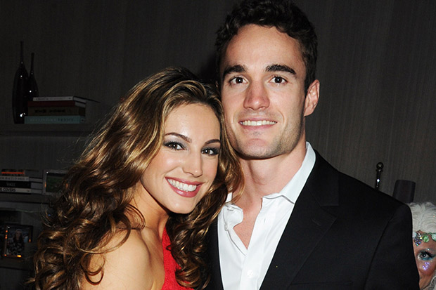 Thom Evans và Kelly Brook