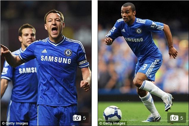 Terry đã được gia hạn thêm 1 năm với Chelsea trong khi Ashley Cole giống Lampard, bị đẩy ra đường