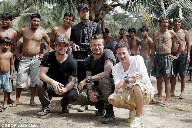David Beckham đã tới được nơi mà người dân chẳng biết bóng đá lẫn David Beckham là gì