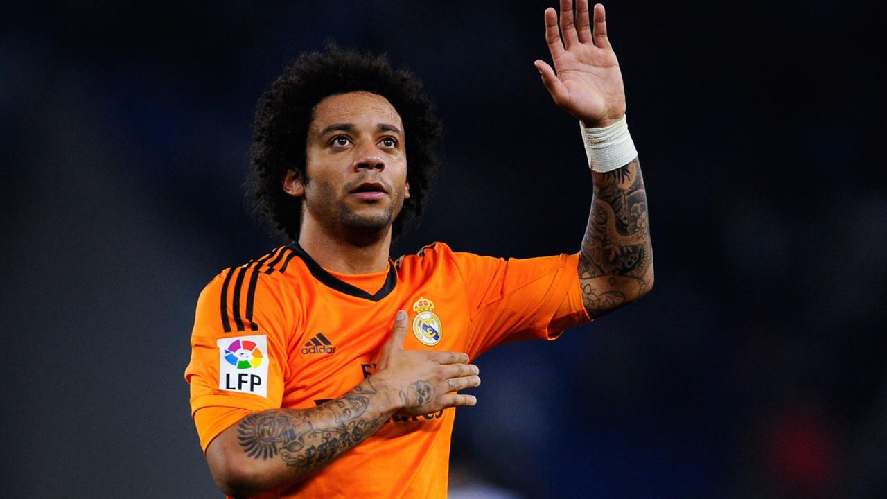 Và Marcelo là những cầu thủ Ba Đẻn yêu thích
