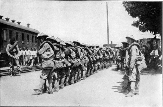 binh lính người Việt trong Thế chiến I