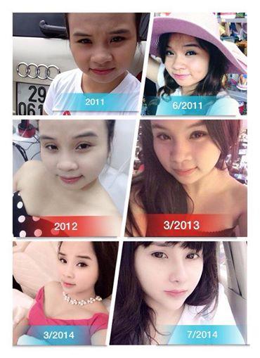 Quá trình thay đổi diện mạo của Trang Venus