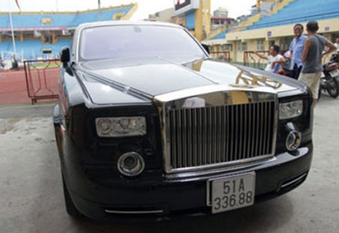 Chiếc xe Phantom phiên bản Rồng hàng độc