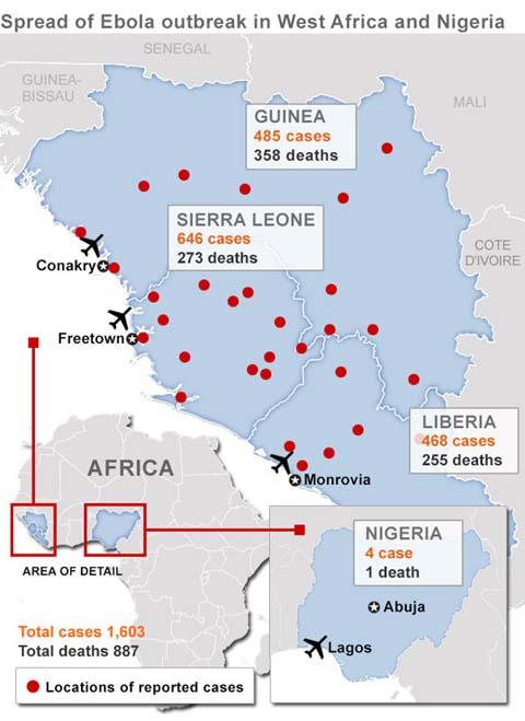 Thêm những hình ảnh chấn động từ tâm đại dịch Ebola 3