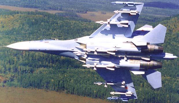 R-27 được lắp trên chiến đấu cơ Su-27