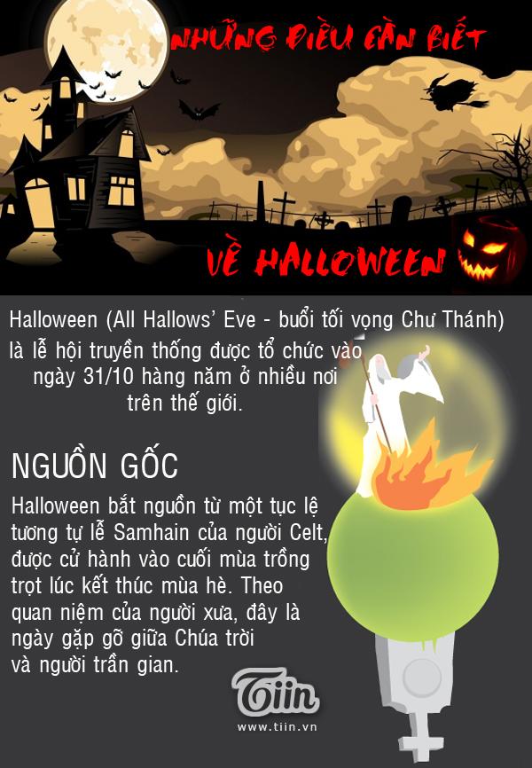Những sự thật thú vị về Halloween