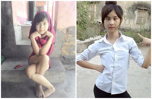Thứ đến là Trần Thị Thanh Thư, sinh năm 1999 tại Hải Dương. Với những cách tạo dáng cực lạ của mình như vắt chéo chân, làm mắt lác, cô gái đã mau chóng trở thành một trong những hiện tượng được chú ý nhiều nhất trong năm qua.