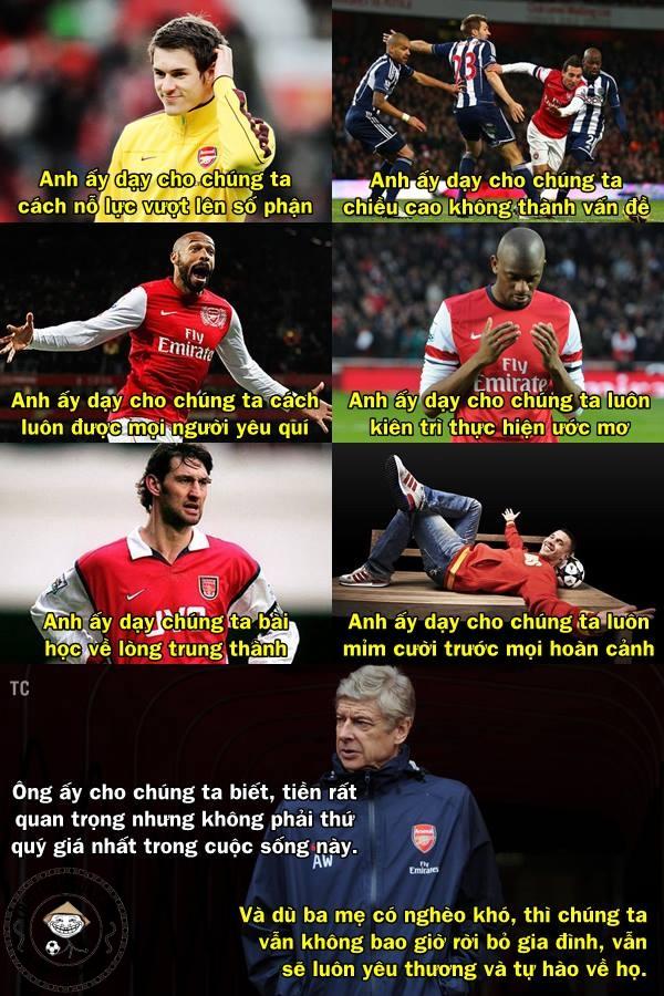 Arsenal đáng để hâm mộ nhỉ