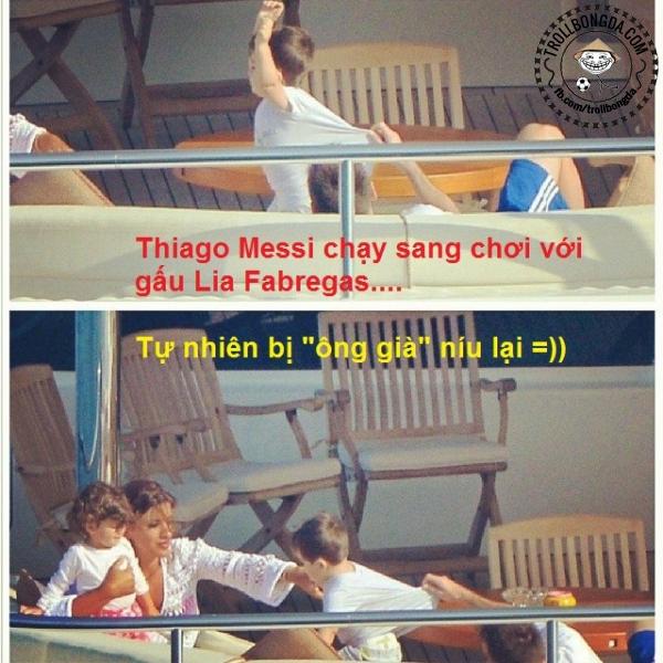 Messi không cho con trai yêu sớm