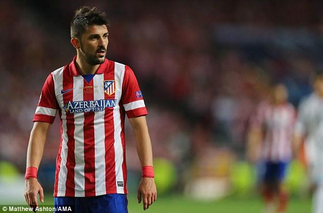 New York City cũng đang muốn có David Villa của Atletico Madrid theo dạng CN tự ho