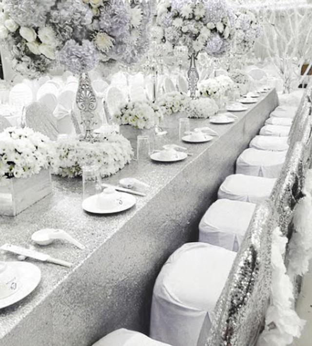 Tiệc cưới trắng vào tháng 12 của Công Vinh - Thủy Tiên