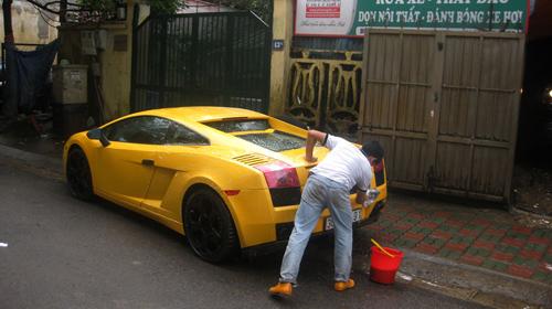 Lamborghini Gallardo, Rolls-Royce Ghost, Ferrari California độ Hamann. siêu xe,
