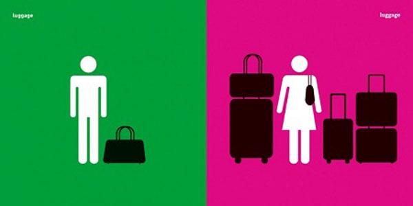 Bộ tranh hài hước về sự khác nhau giữa nam giới và nữ giới 4