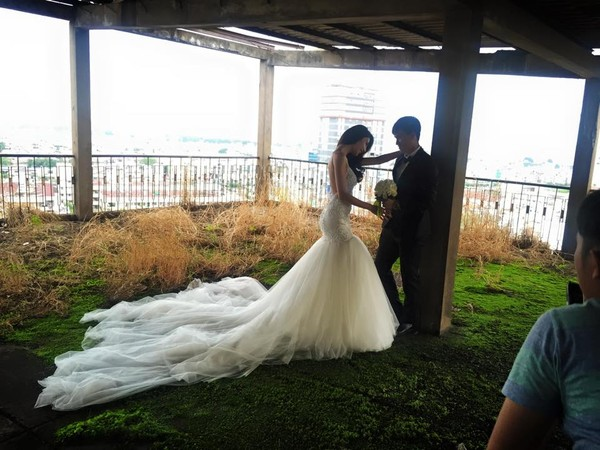 Hé lộ hậu trường chụp ảnh cưới của Công Vinh - Thủy Tiên 4