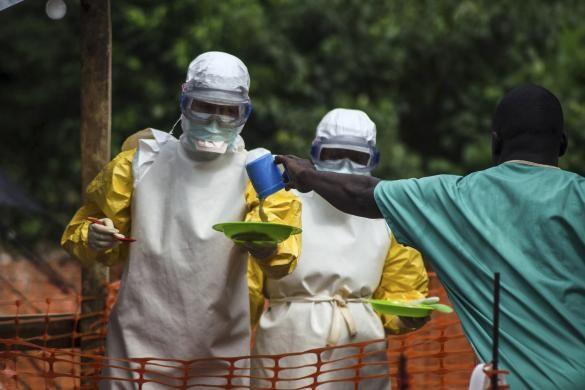 Rợn người hình ảnh chết chóc ở tâm đại dịch Ebola 4