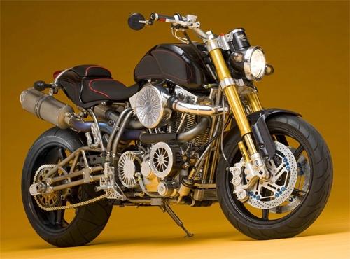 Yamaha Road Star BMS mạ vàng - 500.000 USD
