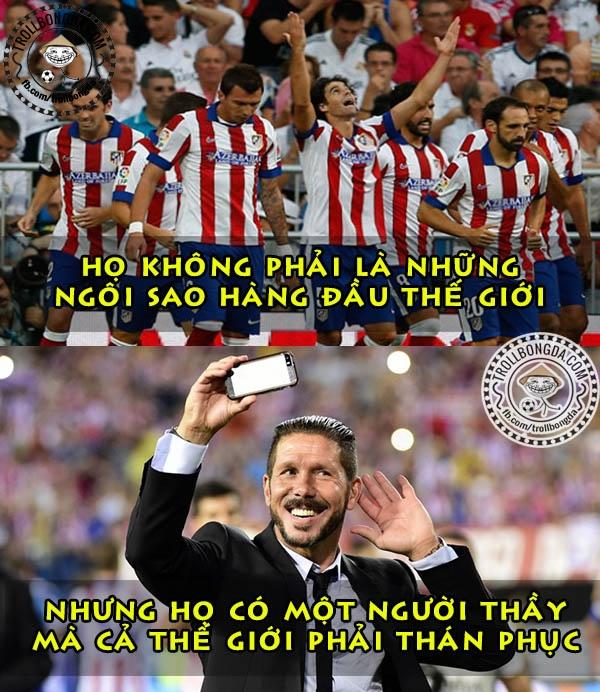 Atletico là đội bóng không sợ ai