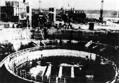Lò phản ứng hạt nhân Osirak.