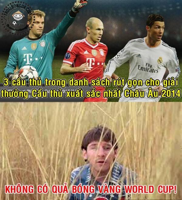 Messi ở đâu?