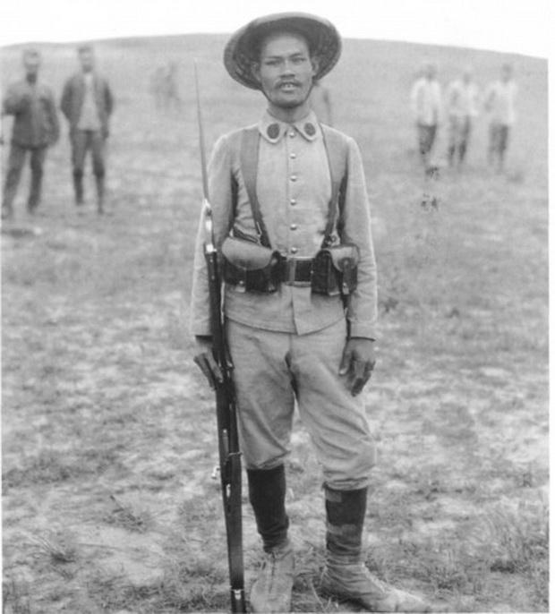 Người Pháp dùng rất nhiều lính Việt tại chiến trường Ypres
