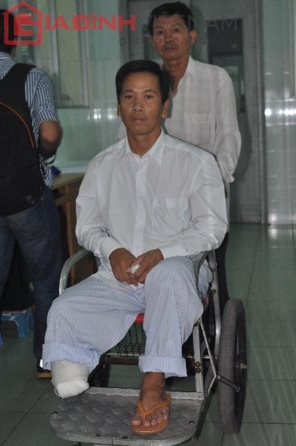 Anh Nguyễn Văn Nam mãi ám ảnh giây phút sinh tử khi bị tai nạn giao thông