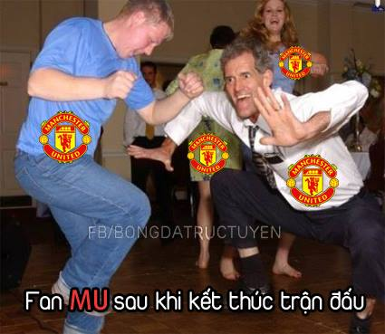 Fan Man United hẳn nhiên rất vui mừng