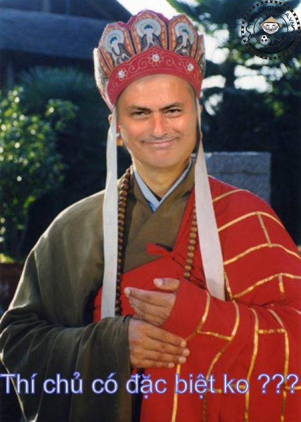 Mourinho cũng thích làm Đường Tăng