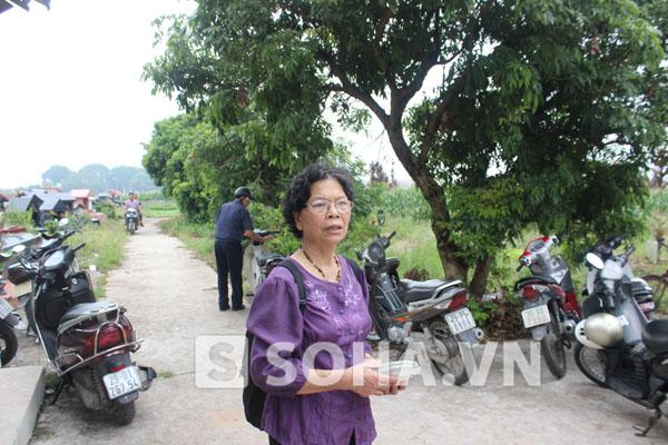 Bà Nguyễn Thị Hiền, mẹ đẻ chị Huyền.
