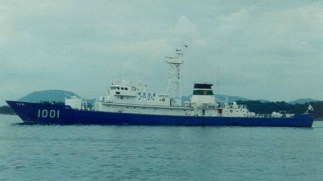 Tàu tuần tra lớp sông Hàn số hiệu 1001, gia nhập biên chế năm 2012