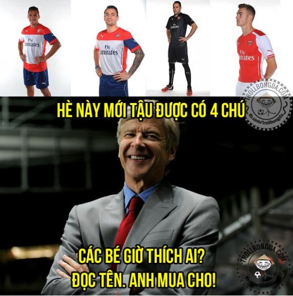 Wenger năm nay khác rồi