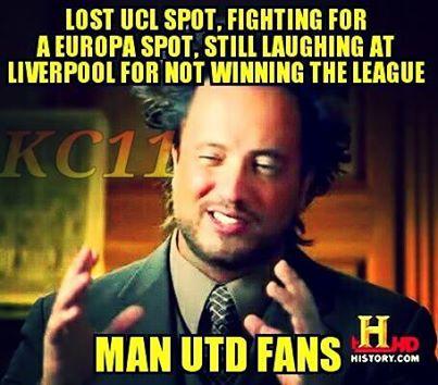 Mất Champions League, chẳng cạnh tranh được suất dự Europa League nhưng vấn chê bai Liverpool không vô địch - Man United