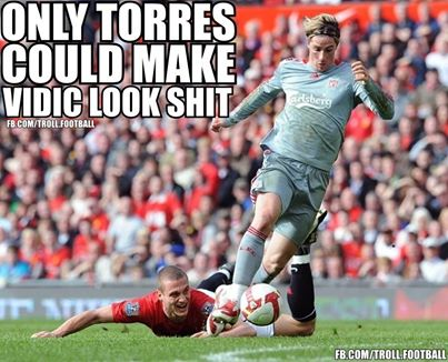 Hy họng Torres không tới Serie A, nơi Vidic chơi bóng mùa tới