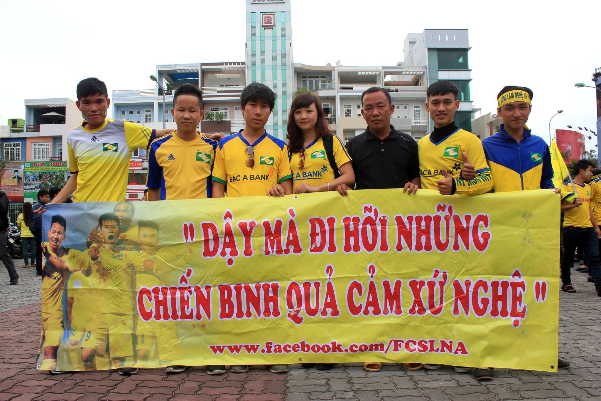 Quỳnh Châu mới gia nhập Hội CĐV SLNA 2 năm nhưng đã là một thành viên chủ lực
