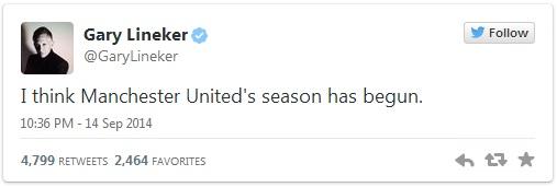 BLV Lineker dự đoán Man United đã vào guồng