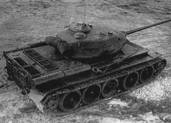 T-44 nhìn từ phía trên