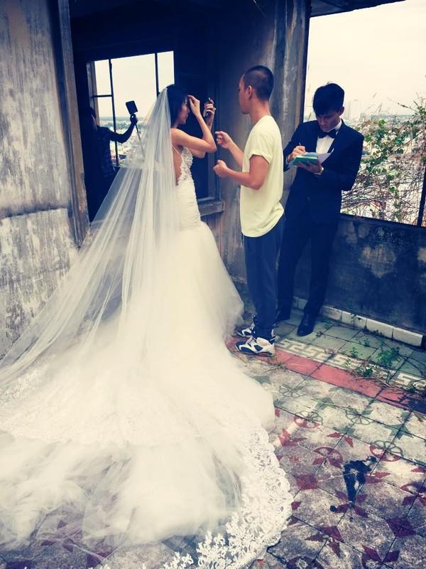 Hé lộ hậu trường chụp ảnh cưới của Công Vinh - Thủy Tiên 7