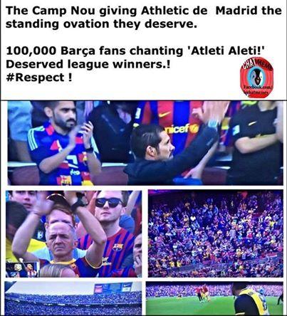 Đẳng cấp của fan Barca
